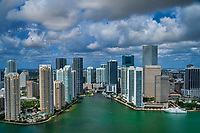 Miami River & Skyline
