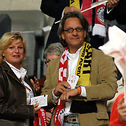 NLD/Amsterdam/20060928 - Voetbal, Uefa Cup voorronde 2006, Ajax - IK Start, Jacques Walch en partner