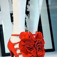 Red Ruffle Louboutin shoes
