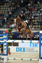Meyer Janne Friederike, (GER), Goya 27<br /> DKB-Riders Tour<br /> Grand Prix Kreditbank Jumping München 2015<br /> © Hippo Foto - Stefan Lafrentz