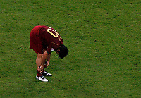 Photo: Glyn Thomas.<br />Portugal v France. Semi Final, FIFA World Cup 2006. 05/07/2006.<br /> Portugal's Deco is dejected.