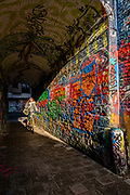 Graffiti Street is the place in Ghent where youngsters can go and legally create their graffiti art
