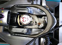 April 27, 2018 - Baku, Azerbaijan - Motorsports: World Championship; 2018; Grand Prix Azerbaijan, Grand Prix of Europe, Formula 1 2018 Azerbaijan Grand Prix, . Birdview of cockpit #44 Lewis Hamilton (GBR, Mercedes AMG Petronas F1 Team) (Credit Image: © Hoch Zwei via ZUMA Wire)