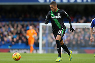 Ibrahim Afellay of Stoke City in action. Barclays Premier league match, Chelsea v Stoke city at Stamford Bridge in London on Saturday 5th March 2016.<br /> pic by John Patrick Fletcher, Andrew Orchard sports photography.