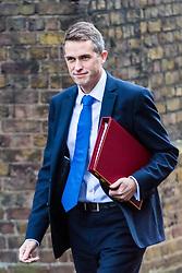 London, November 14 2017. Defence Secretary Gavin Williamson attends the UK cabinet meeting at Downing Street. © Paul Davey