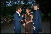 BEN FOGLE; AMBER NUTTALL; WILLIAM KANTA, Cartier dinner in celebration of the Chelsea Flower Show. The Palm Court at the Hurlingham Club, London. 19 May 2014.