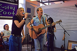 Jenn Wertz & Michael Glabicki, Rusted Root At Tower Records