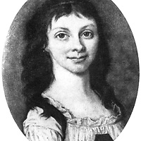Arndt, Ernst Moritz, 26.12.1769 - 29.1.1860, German author / writer, poet, his first wife Charlotte Marie Quistorp (1777 - 1801), portrait, oval, circa 1800,<br /> <br /> Photograph by INTERFOTO / Sammlung Rauch/Writer Pictures<br /> <br /> UK RIGHTS ONLY - NO AGENCY SALES UK RIGHTS ONLY / NO FOREIGN SALES / NO FOREIGN AGENT SALES
