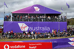 October 7, 2018 - Bathurst, NSW, U.S. - BATHURST, NSW - OCTOBER 07: Big crowd at the Supercheap Auto Bathurst 1000 V8 Supercar Race at Mount Panorama Circuit in Bathurst, Australia on October 07, 2018 (Photo by Speed Media/Icon Sportswire) (Credit Image: © Speed Media/Icon SMI via ZUMA Press)