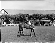 04/08/1960<br /> 08/04/1960<br /> 04 August 1960<br /> R.D.S Horse Show Dublin (Thursday).