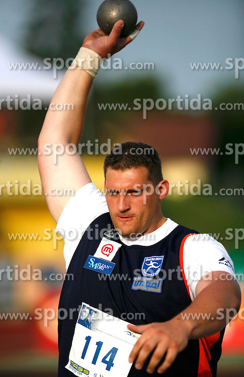 Athlete Miroslav Vodovnik at 2nd Memorial Meeting of Matic Sustersic, on June 3, 2007, Ljubljana, Slovenia.   (Photo by Vid Ponikvar / Sportal Images).