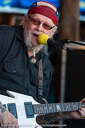 David Allan Coe performing at the Iron Horse Saloon during Biketoberfest, Ormond Beach, FL, October 17, 2014, photographed by Michael Lichter. ©2014 Michael Lichter