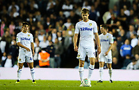Leeds United's Patrick Bamford prepare to restart the game after his side went 2-0 down<br /> <br /> Photographer Alex Dodd/CameraSport<br /> <br /> The Carabao Cup Second Round - Leeds United v Preston North End - Tuesday 28 August 2018 - Elland Road - Leeds<br />  <br /> World Copyright © 2018 CameraSport. All rights reserved. 43 Linden Ave. Countesthorpe. Leicester. England. LE8 5PG - Tel: +44 (0) 116 277 4147 - admin@camerasport.com - www.camerasport.com