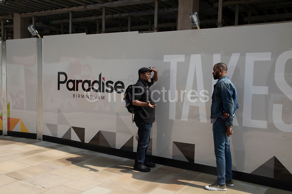 Redevelopment of central area known as Paradise in Birmingham, United Kingdom. Paradise, formerly named Paradise Circus, is the name given to an area of approximately 7 hectares in Birmingham city centre between Chamberlain and Centenary Squares. The area has been part of the civic centre of Birmingham since the 19th century. From 2015 Argent Group will redevelop the area into new mixed use buildings and public squares.