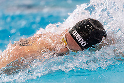 05-04-2019 NED: Swim Cup, Den Haag<br /> Kyle Stolk wins the 200 meter freestyle during the Swim Cup
