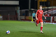 Crawley Town forward James Tilley (#38) on the ball during the EFL Sky Bet League 2 match between Crawley Town and Walsall at The People's Pension Stadium, Crawley, England on 16 March 2021.