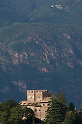 A former fortified house-turned hotel in the Dolomites region south-west of Bolzano, South Tyrol.
