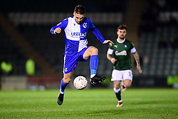 Luke Leahy of Bristol Rovers control the ball - Mandatory by-line: Ryan Hiscott/JMP - 17/12/2019 - FOOTBALL - Home Park - Plymouth, England - Plymouth Argyle v Bristol Rovers - Emirates FA Cup second round replay