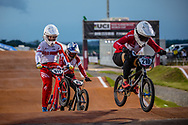 #210 (CHRISTENSEN Simone Tetsche) DEN [Wiawis, Odum, Avian] at Round 8 of the 2019 UCI BMX Supercross World Cup in Rock Hill, USA