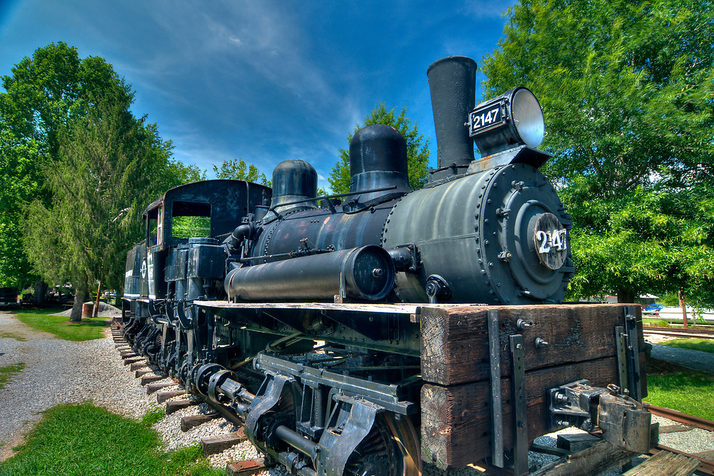 Little River Railroad and Lumber Company Museum in Townsend, Tennessee on Tuesday, July 11, 2017. Copyright 2017 Jason Barnette