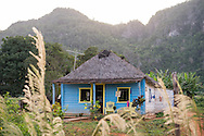 Domingo is an old farmer, this is his house behind the main streets of VIñales, known for it's landscape of small mountains. <br /> <br /> Viñales, Cuba, 2015