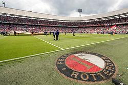 14-05-2017 NED: Kampioenswedstrijd Feyenoord - Heracles Almelo, Rotterdam<br /> In een uitverkochte Kuip pakt Feyenoord met een 3-0 overwinning het landskampioenschap / de Kuip
