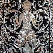 THA/Bangkok/201607111 - Vakantie Thailand 2016 Bangkok, Muurschilderingen in Tempel
