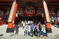 Sensoji is an ancient temple located in Asakusa district of Tokyo and is the city's oldest Buddhist temple. In fact the city of Tokyo grew up around Sensoji and is in the root of its origins.