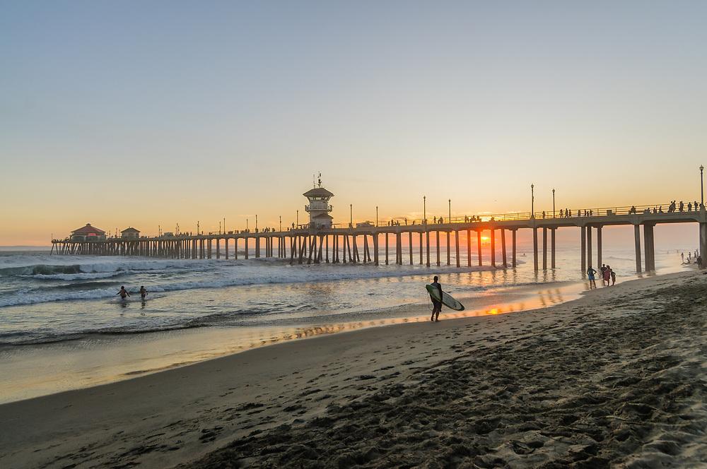 Pier, Huntington Beach, California