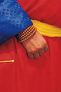 Monk & prayer beads<br /> Mongolia