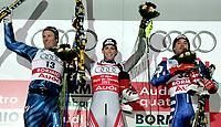 ◊Copyright:<br />Siegerehrung<br />◊Photographer:<br />Norbert Juvan<br />◊Name:<br />Raich<br />◊Rubric:<br />Sport<br />◊Type:<br />Ski alpin<br />◊Event:<br />FIS Alpine Ski WM Bormio 2005, Kombination Herren, Siegerehrung<br />◊Site:<br />Bormio, Italien<br />◊Date:<br />03/02/05<br />◊Description:<br />Aksel Lund Svindal (NOR), Benjamin Raich (AUT), Giorgio Rocca (ITA)<br />◊Archive:<br />DCSNJ-0302051387<br />◊RegDate:<br />03.02.2005<br />◊Note:<br />8 MB - BG/BG - Nutzungshinweis: Es gelten unsere Allgemeinen Geschaeftsbedingungen (AGB) bzw. Sondervereinbarungen in schriftlicher Form. Die AGB finden Sie auf www.GEPA-pictures.com.<br />Use of picture only according to written agreements or to our business terms as shown on our website www.GEPA-pictures.com.