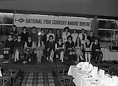 1982 - National Fish Cookery Award