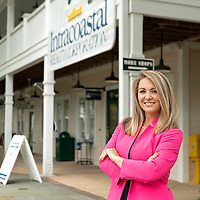 06/02/2020 -<br /> <br /> Kathryn Bruner is a real estate broker with Intracoastal Realty and city leader with Bunker Labs Wilmington, a national veteran nonprofit organization that connects veterans and military spouses with resources to start their own business and become successful entrepreneurs.<br /> <br /> Photo by Michael Cline Spencer