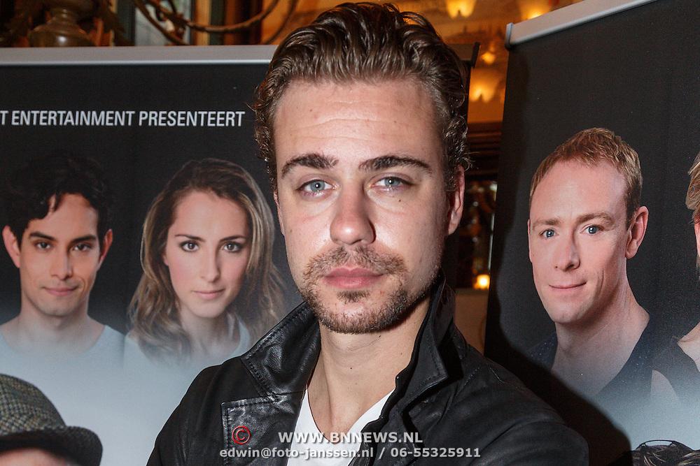 NLD/Amsterdam/20150916 - Perspresentatie Baantjer Live 2, Beau Schneider