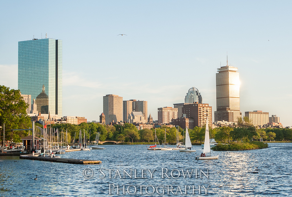 Back Bay Charles River Panorama