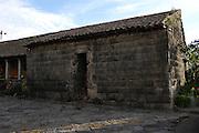 Ecuador, May 26 2010: View of the outside of the Inca built chapel at Hacienda San Agustin del Callo. Copyright 2010 Peter Horrell