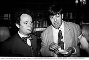 Stephen Fry and Christopher Mason. NewYork 94.Film no 94262fr35.© Copyright Photograph by Dafydd Jones 66 Stockwell Park Rd. London SW9 0DA Tel 020 7733 0108 www.dafjones.com
