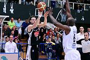 DESCRIZIONE : Trento Lega A 2014-15 Dolomiti Energia Trento Pasta Reggia Caserta<br /> GIOCATORE : Michele Antonutti<br /> CATEGORIA : tiro three points<br /> SQUADRA : Pasta Reggia Caserta<br /> EVENTO : Campionato Lega A 2014-2015<br /> GARA : Dolomiti Energia Trento Pasta Reggia Caserta<br /> DATA : 29/03/2015<br /> SPORT : Pallacanestro <br /> AUTORE : Agenzia Ciamillo-Castoria/M.Marchi<br /> Galleria : Lega Basket A 2014-2015 <br /> Fotonotizia : Trento Lega A 2014-15 Dolomiti Energia Trento Pasta Reggia Caserta