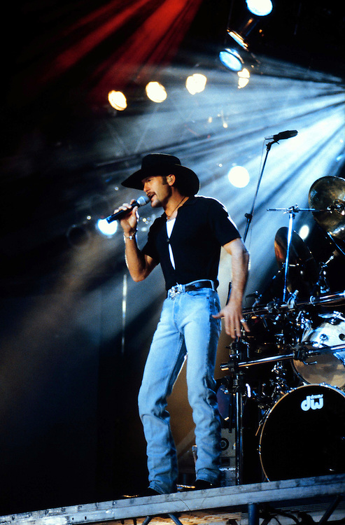 Tim McGraw at CountryFest '96. Pomona Fairplex, CA.