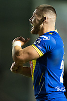 Rugby League - 2020 Super League - Round 13 - Warrington Wolves vs Catalan Dragon<br /> <br /> Warrington Wolves's Danny Walker celebrates scoring a try,   at the Halliwell Jones Stadium, Warrington<br /> <br /> <br /> COLORSPORT/TERRY DONNELLY