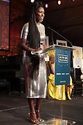 Bridgehampton, New York, NY-July 15: Bozoma Saint John (Honoree) attends The 2017 RUSH Philanthropic's  Art For Life held at Fairview Farms on July 15, 2017 in Bridgehampton, New York. (Photo by Terrence Jennings/terrencejennings.com)