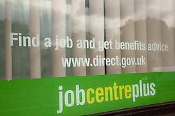 FILE PICTURE © Licensed to London News Pictures. LONDON, UK  15/06/11. A job centre in Kennington, London today (Wednesday) as the latest unemployment statistics are released. Please see special instructions for usage rates. Photo credit should read Matt Cetti-Roberts/LNP