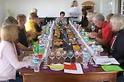 Wine tasting. Henrque HM Uva, Herdade da Mingorra, Alentejo, Portugal