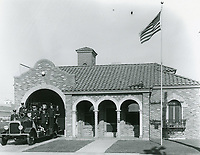 Fire Station #51 on Van Ness Ave.