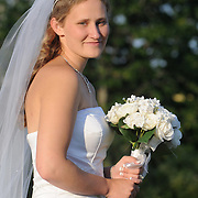 July 5, 2008 -- The wedding of Matt Hawkes and Elizabeth Wildrick at The Fireside inn in Auburn, ME.   Photo by Roger S. Duncan.