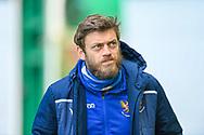 Murray Davidson (#8) of St Johnstone FC arrives before the SPFL Premiership match between Hibernian and St Johnstone at Easter Road Stadium, Edinburgh, Scotland on 1 May 2021.