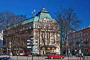Hotel Royal przy ul. św. Gertrudy w Krakowie, Polska<br /> Royal Hotel at St. Gertrudy Street in Cracow, Poland