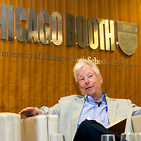 """""""A World on the Edge"""";<br /> Lord Gus O'Donnell & Prof Richard Thaler;<br /> Chicago Booth, Moorgate, London;<br /> 18th July 2017.<br /> <br /> © Pete Jones<br /> pete@pjproductions.co.uk"""