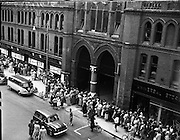 Opening Sale for Dunnes, Georges St..09/07/1959