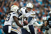 December 11, 2016: Carolina Panthers vs San Diego Chargers. Philip Rivers